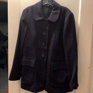 Navy Coat/blazer Wool size large GAP